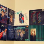 Some of the records cover we have on our walls